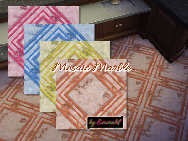 Mosaic Marble by emerald