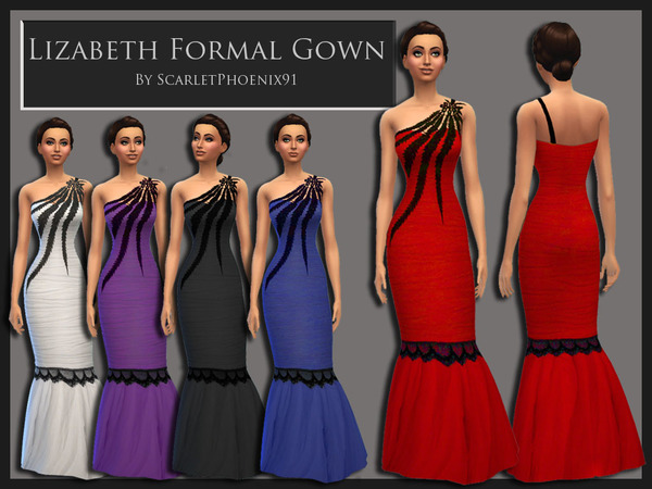 Lizabeth Formal Gown by scarletphoenix91