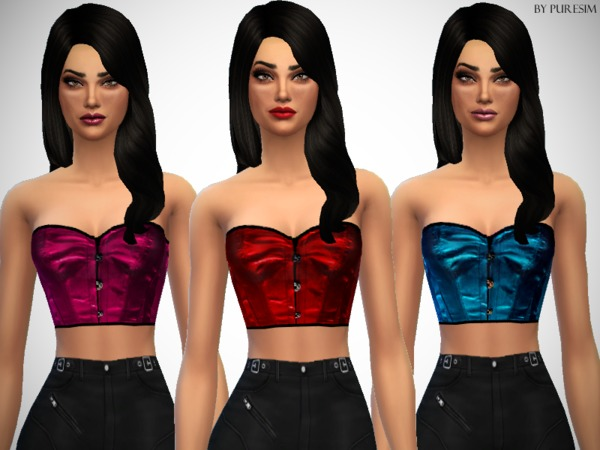 Satin Corset Tops by Puresim