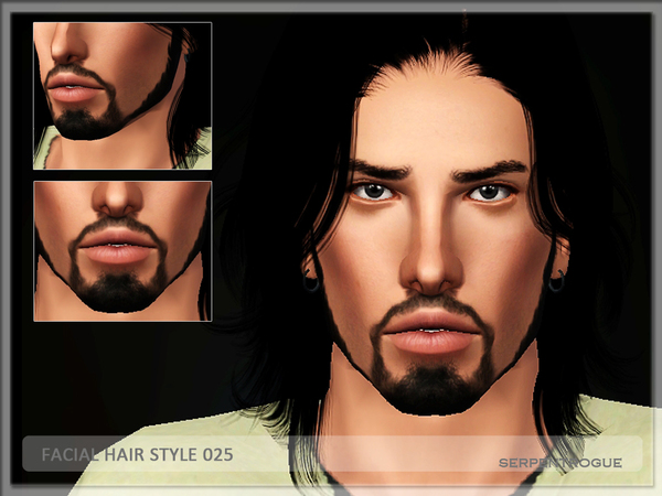 Facial Hair style 025 by Serpentrogue