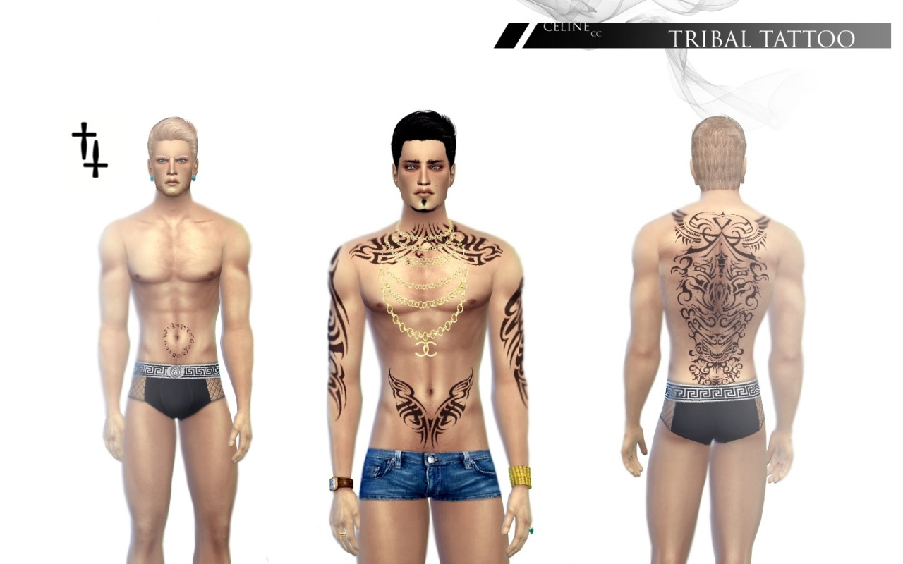 Tribal Tattoos for Males by Jirkacermak
