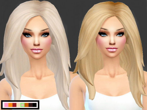 BarbieSiims Holy Hair for Females