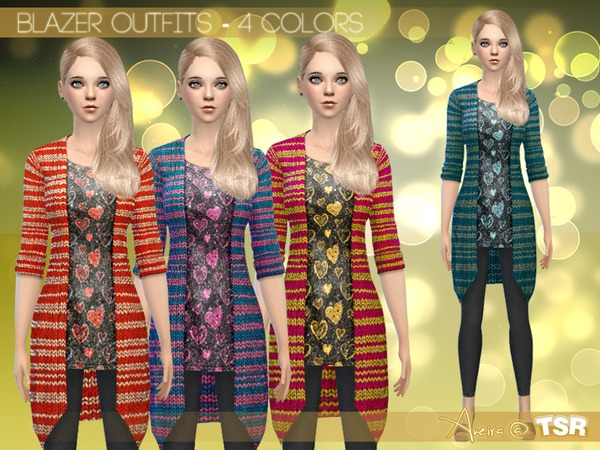 Blazer Outfits - 4 Colors by Aveira