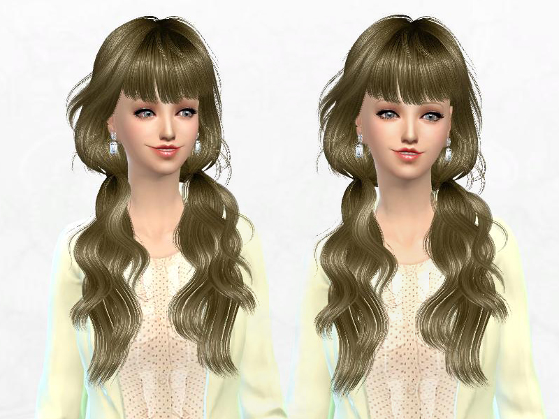 Newseas J162 Seasame hair retexture by Sakura Phan