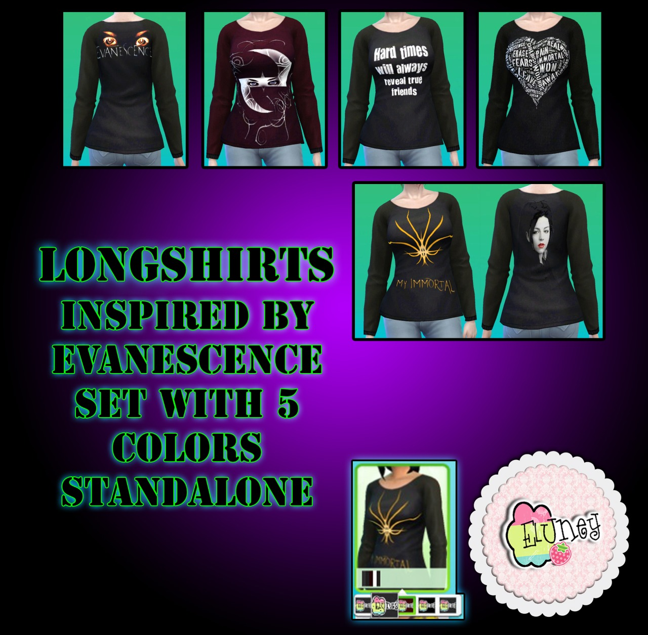 Longshirts by EluneyDesign
