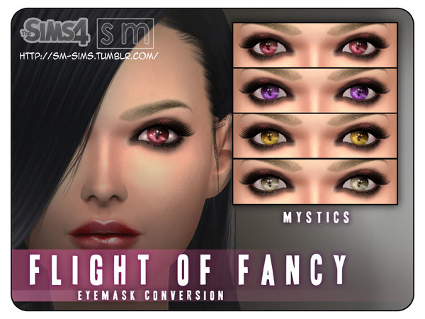 [ Flight Of Fancy ] - Eye Mask by Screaming Mustard