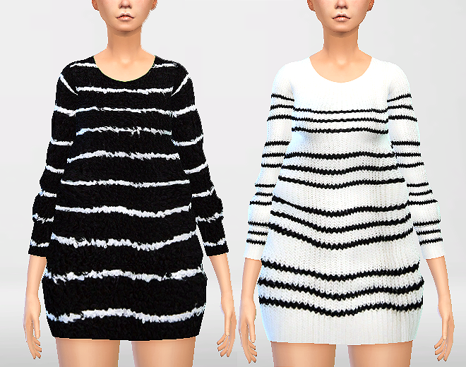 Chunky Sweaters Set by Puresims