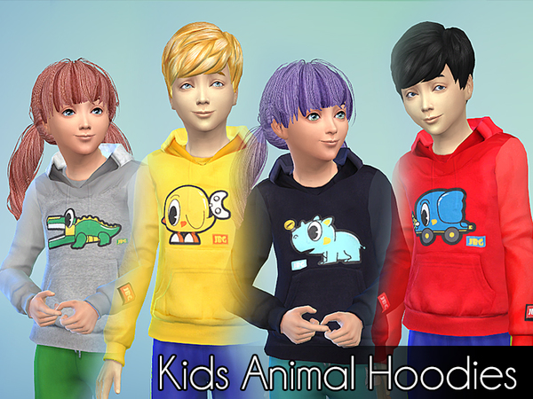 Kids Animal Hoodies by NIREsim