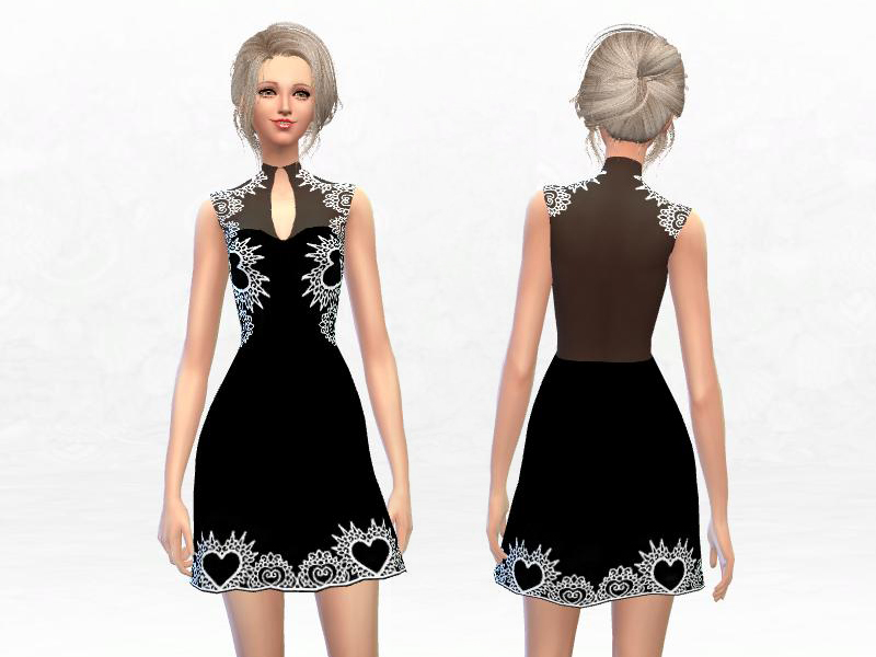 Lace Dress by SakuraPhan