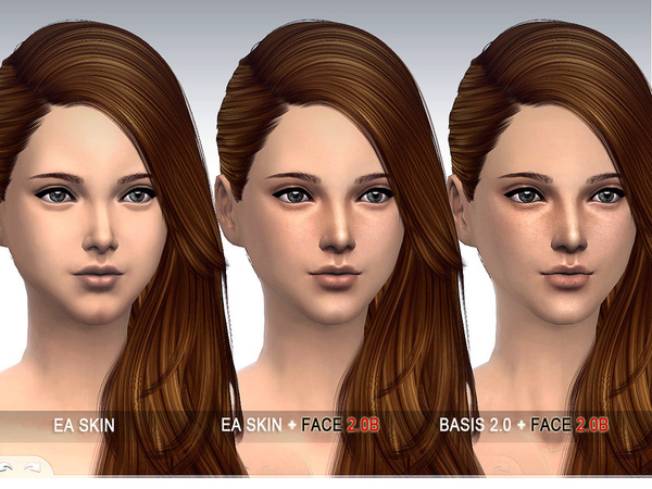 S-Club WMLL thesims4 Facemask 2.0