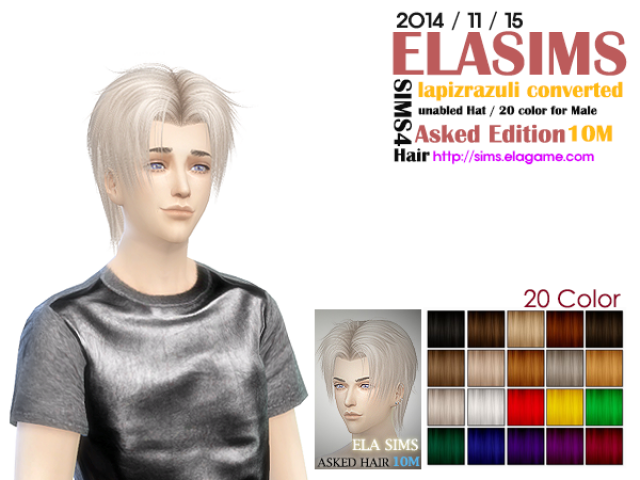 LapizLazuli Hair Conversion Asked 10M by Elasims
