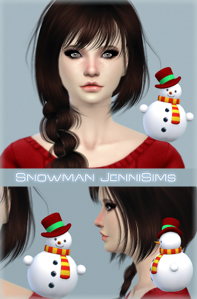 New Mesh Accessory Snowman Male / Female by Jennisims