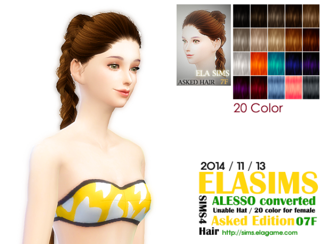 Alesso Hair Conversion Asked_07F by Elasims