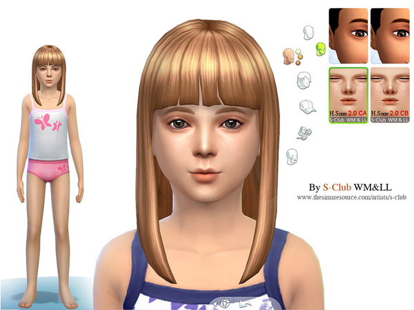 S-Club WMLL thesims4 H.S ND skintones2.0