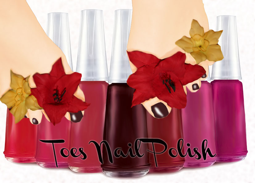 Polish nails toes by malicieuse75