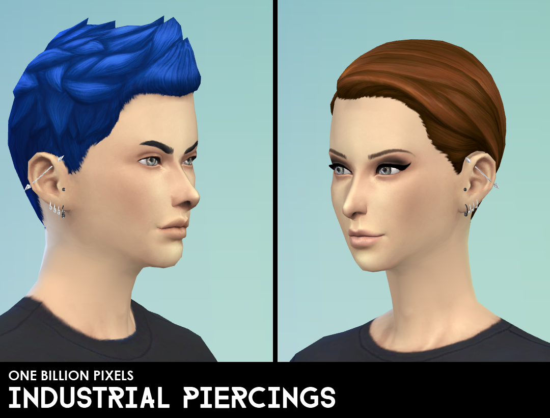 Industrial Piercings by NewOne