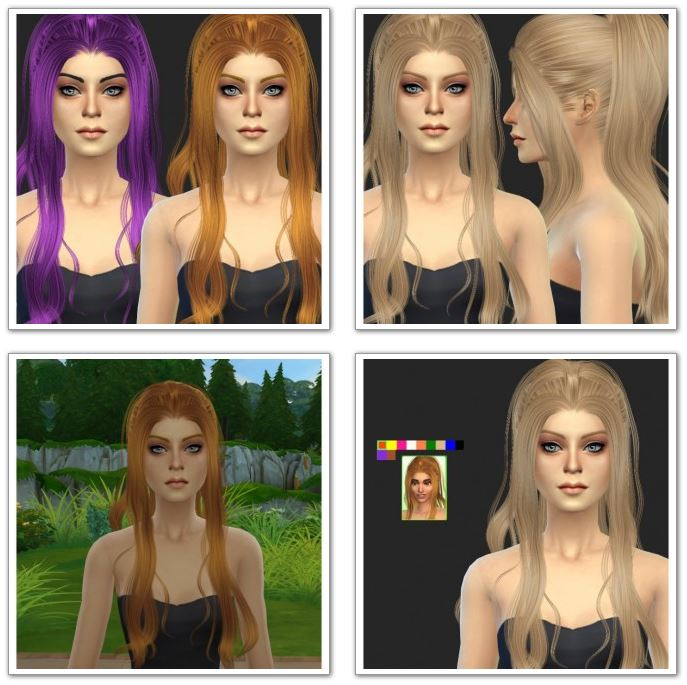 Newsea Mermaid Hair Retexture at Simista
