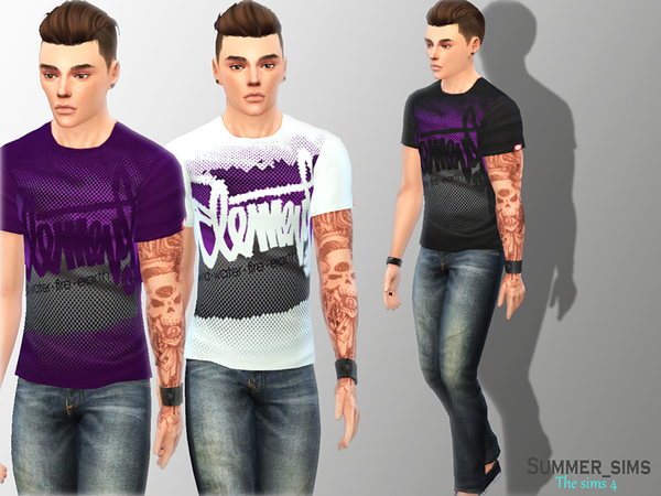 Element T-shirts by Summer_Sims
