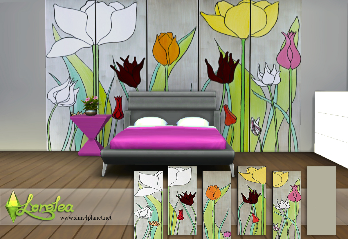 Floral designs wallpapers by lorelea