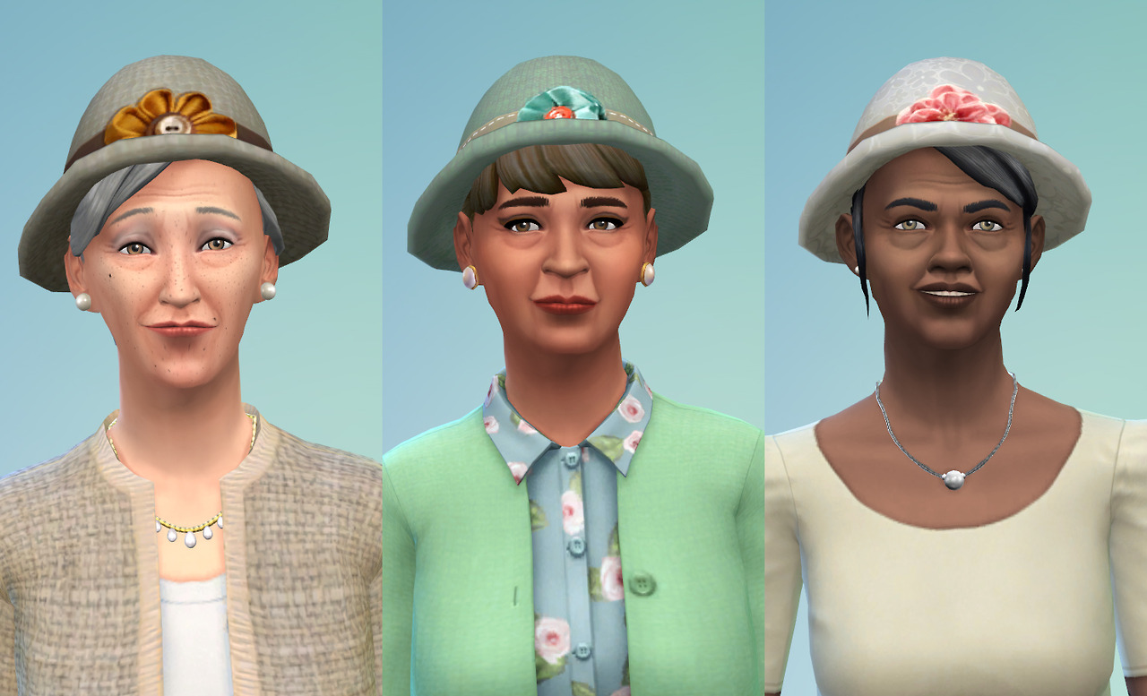 Granny Hats by JoolsSimming