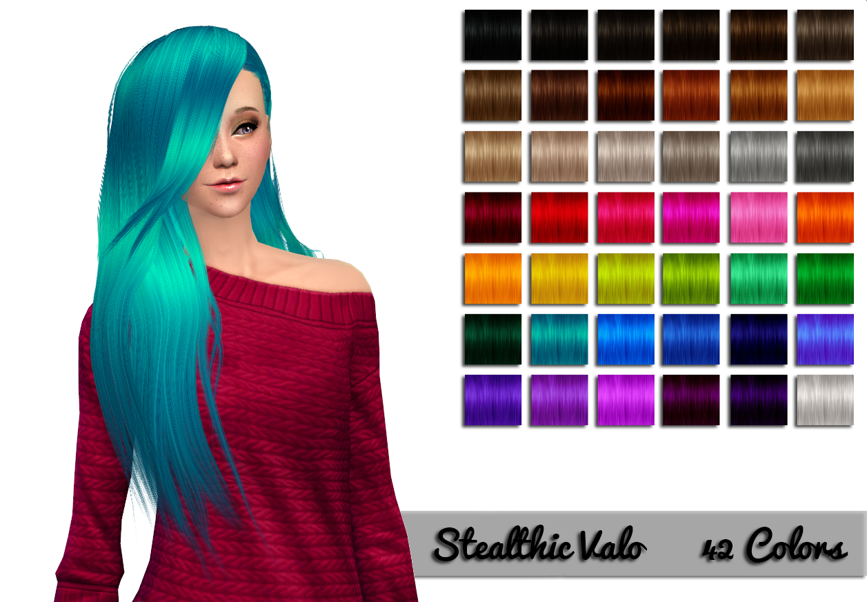 Stealthic Valo Retexture and Colors by NessasSims