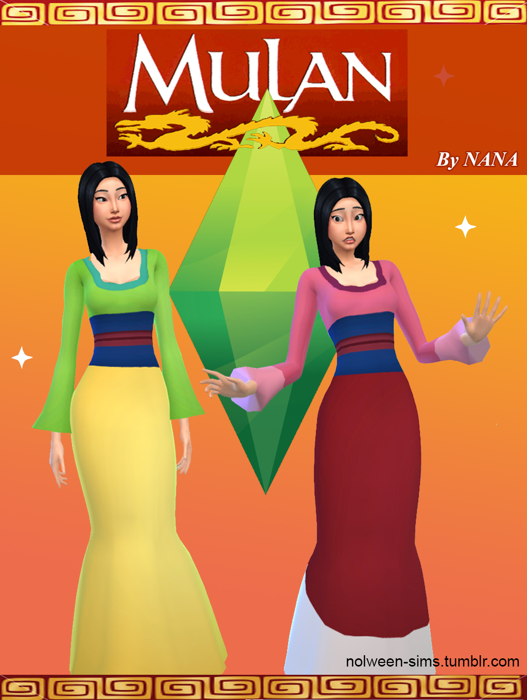Mulan Dress by Nana