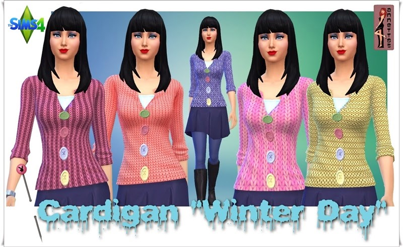 Winter Day Cardigans for Females by Annett85