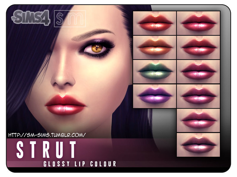 [ Strut ] - Glossy Lip Colour by Screaming Mustard