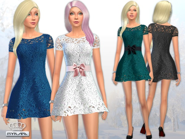 Jasmine Lace Crochet Dress by EsyraM
