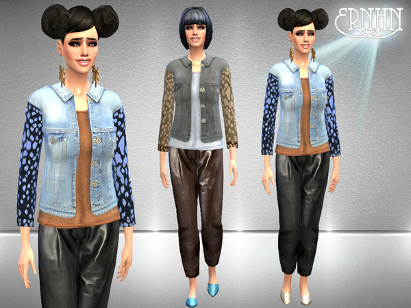 Designer Outfits Set by ernhn