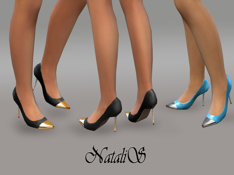 NataliS_Leather Pumps metal toe FT-FE