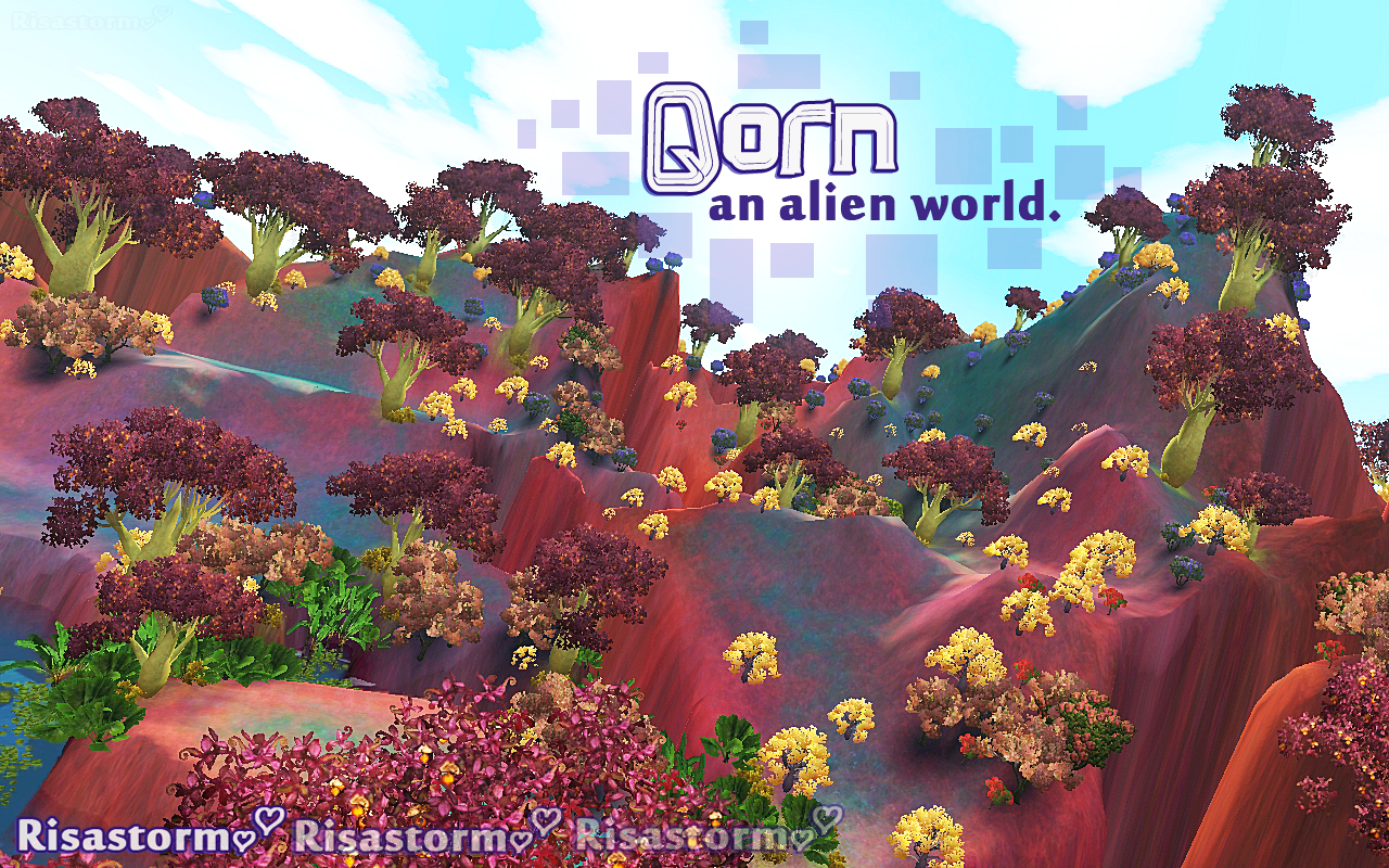 Qorn An Alien World by Risastorm
