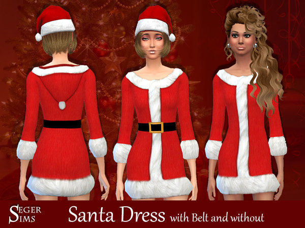Santa Dress by SegerSims