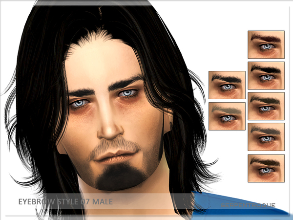 Eyebrow Style 07-Male by Serpentrogue