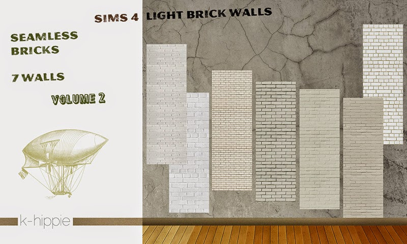 Brick Walls + Tile & Pavement Floors by Blackgryffin