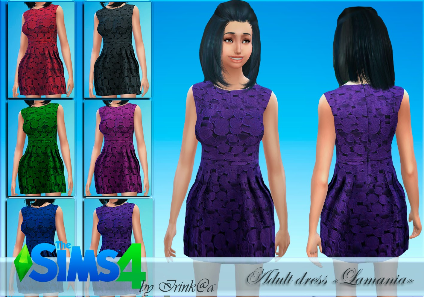 Lamania dress by Irink@a
