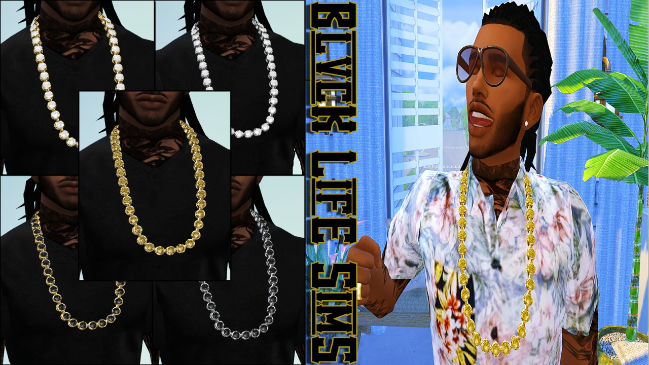 GTA SA Chain Necklaces by Blvcklifesimz