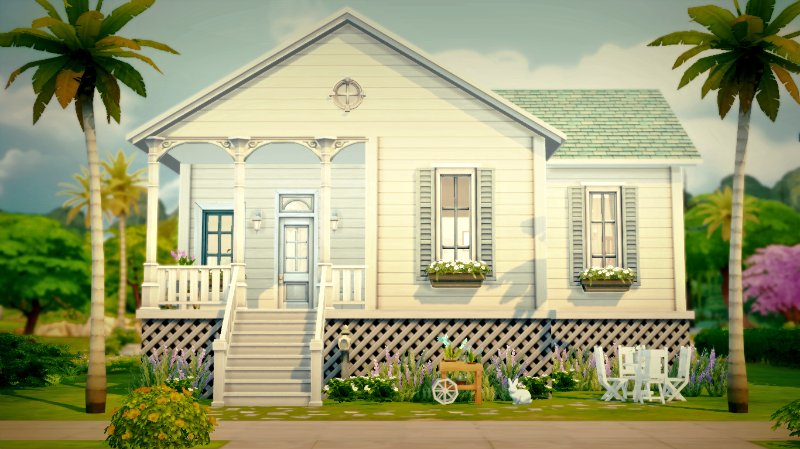 Blue Cottage (No CC) by Dilan