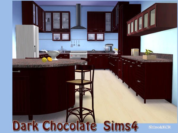 Kitchen Dark Chocolate by ShinoKCR