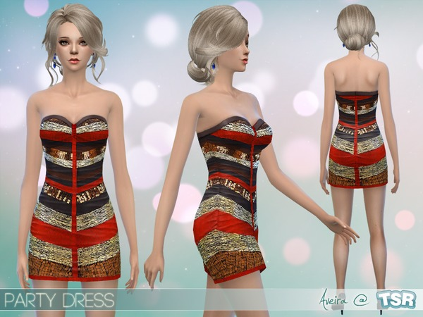 Party Dress by Aveira