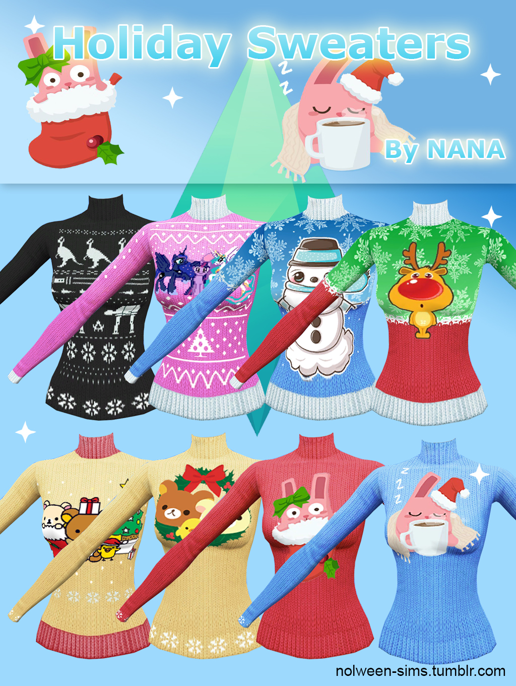 Holiday Sweaters for Females by Nana