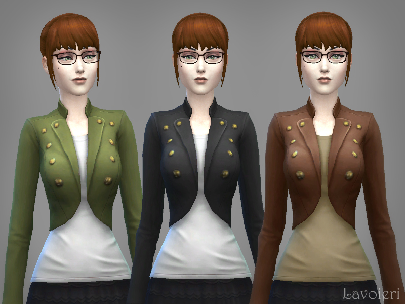 Military Jacket 9 Recolors at Lavoieri