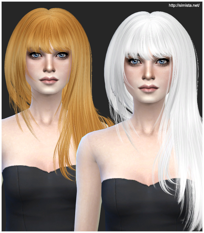 Newsea Innocent Hair Retexture by Simista