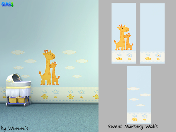 Sweet Nursery Wall by Wimmie