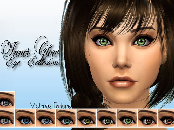 Victorias Fortune Inner Glow Eye Collection by fortunecookie1