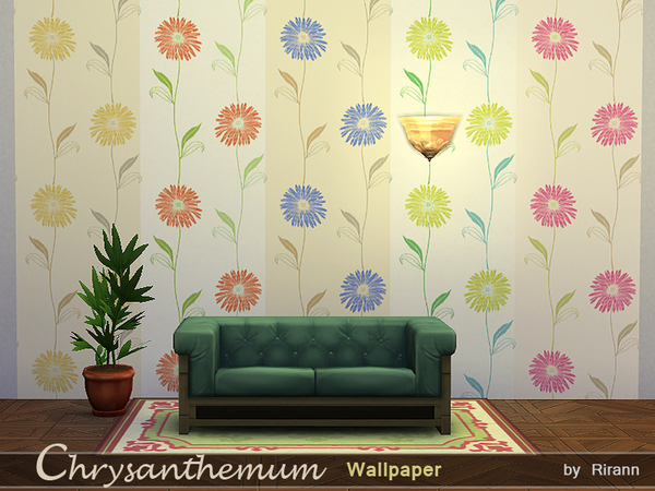 Chrysanthemum Wallpaper by Rirann