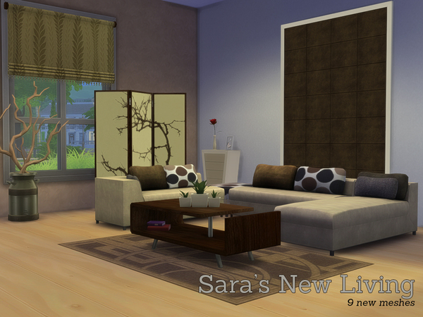 Sara's New Livingroom by Angela