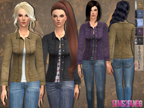 24 - Casual jacket by sims2fanbg