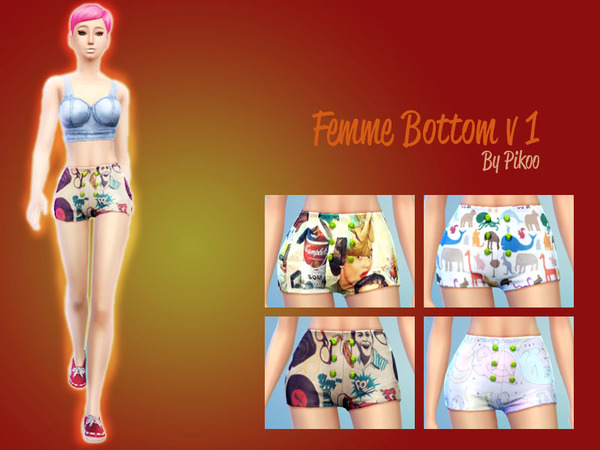 Femme Bottom v1 by pikoo