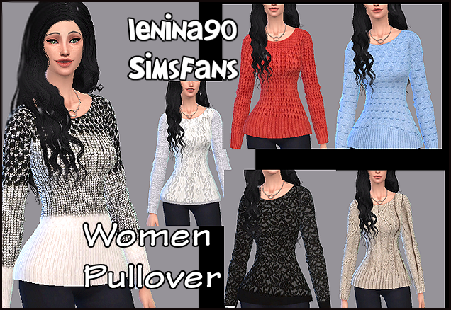 Sweaters for Females by Lenina90
